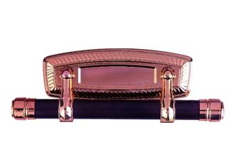 China Flat Plastic Panel Casket Swing Bar Bronze Surface With Long Life Time supplier