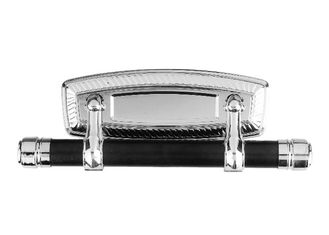 China Silver Plating Coffins And Caskets Accessories Swing Bar D Delicate Technics supplier