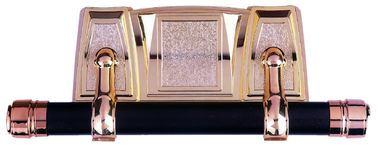 China Bronze Plating Casket Swing Bar High Durability 38cm Short Bar In Set supplier