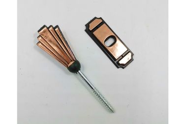 China Germany coffin screw and washer PS14 in copper color and screw length 6.3cm supplier